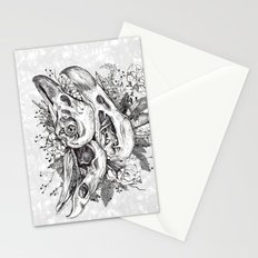 Skull Pile Stationery Cards