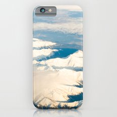 Mountains with snow iPhone 6s Slim Case