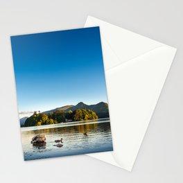 Ducks on Lake Derewentwater near Keswick, England Stationery Cards