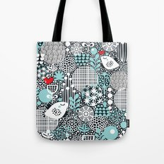 White bird. Tote Bag