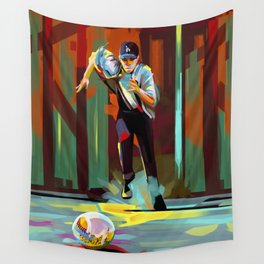 The Showdown Wall Tapestry