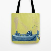 stucky Tote Bags featuring Not to die but to be reborn by Shawn Stucky