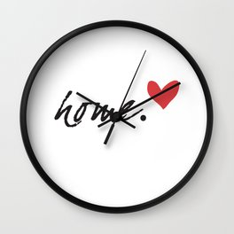 Love Home Wall Clock