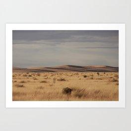 Marfa Landscape Art Print