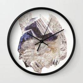 Crystalize IIII Wall Clock