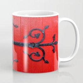 Hinge on a Red Door Coffee Mug