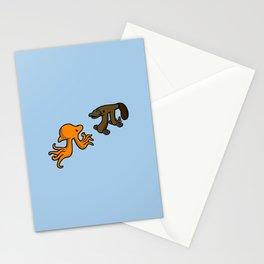 Octopi VS Platypi Stationery Cards