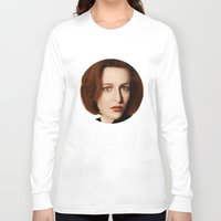 scully Long Sleeve T-shirts featuring Scully by Alexia Rose