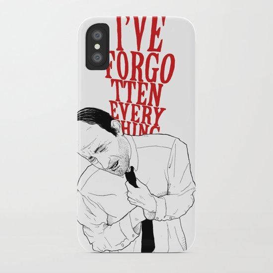 forgot II iPhone Case