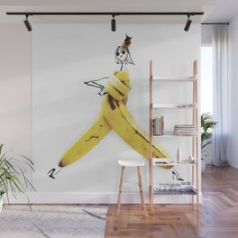 Edible Ensembles: Banana Wall Mural