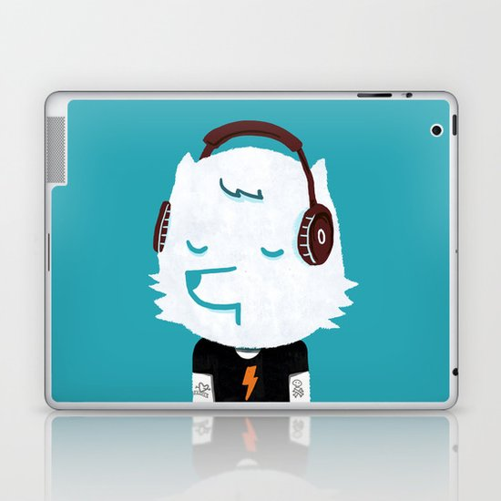Metal Rock Dog Laptop & iPad Skin
