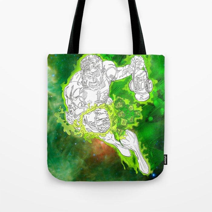 The Green Lantern by Derek Dobbels Tote Bag