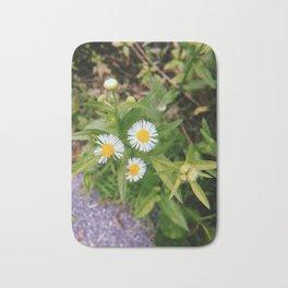 Three Little Flowers Bath Mat
