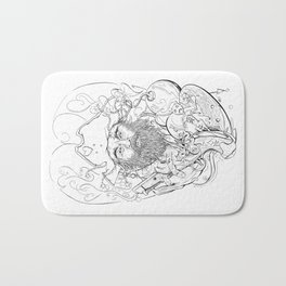 Blackbeard Bath Mat