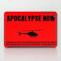 apocalypse now iPad Cases featuring Apocalypse Now Move Poster by FunnyFaceArt