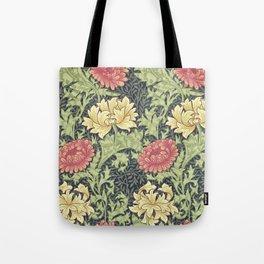William Morris Chrysanthemum Tote Bag