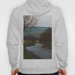 Along a rural road - Landscape and Nature Photography Hoody