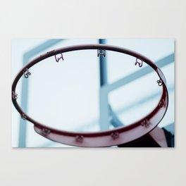 Backyard Hoop Dreams Canvas Print
