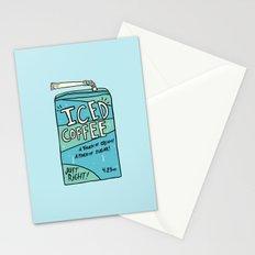 Iced Coffee Juicebox Stationery Cards