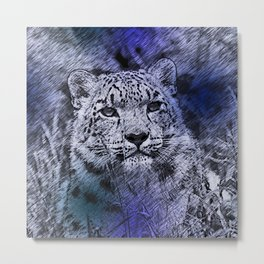 Leopard20151204 Metal Print