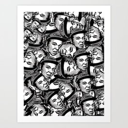 #CHANCEFACE Art Print