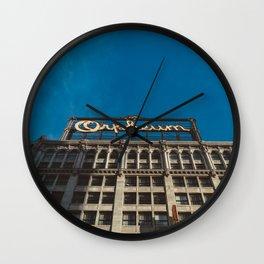 Orpheum Theatre Los Angeles V Wall Clock