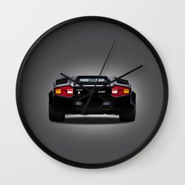 Countach Rear Wall Clock