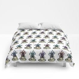 Kraken tea Comforters