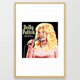 Dolly Patton Framed Art Print