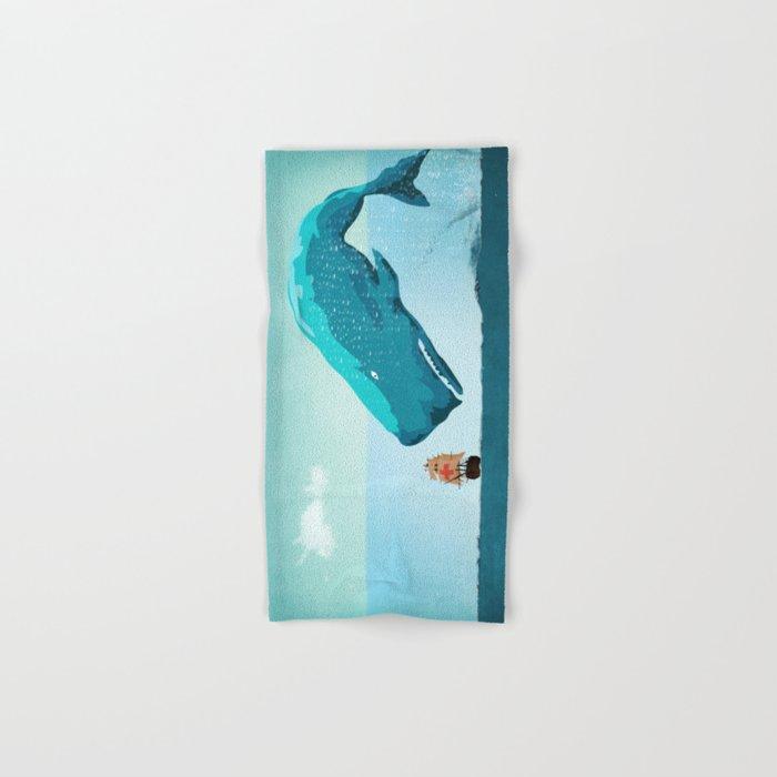 Whale Hand & Bath Towel