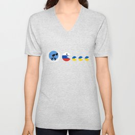 United Nations Russia and Ukraine Unisex V-Neck