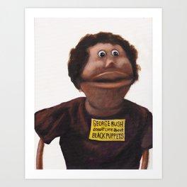 Franklin from Arrested Development Art Print