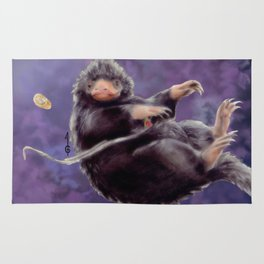 Niffler (Fantastic Beasts FANART) Rug