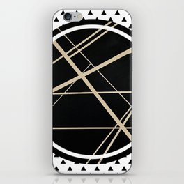 Crossroads - small triangle iPhone Skin