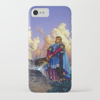 tyrion iPhone & iPod Cases featuring King Arthur by Hescox
