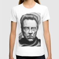 christopher walken T-shirts featuring Christopher Walken Portrait by joeandersonart