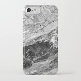 Carrara Grey Marble iPhone Case