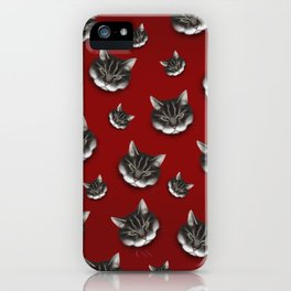 sinister kitty iPhone Case