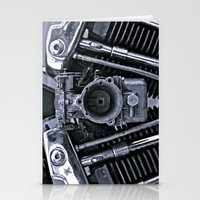 motorcycle Stationery Cards featuring MOTORCYCLE  by ALX RUTECKI