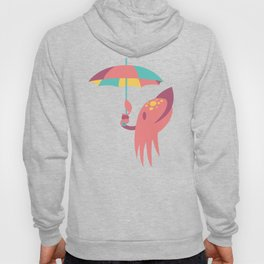 Cuttling Weather - Coral & Cream Hoody