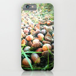 Don't go nuts! iPhone Case