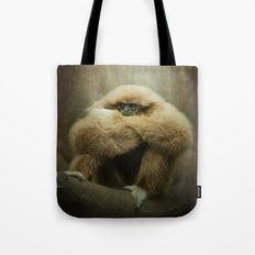 Study of a Gibbon - The Thinker Tote Bag