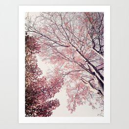 The Trees – Pink n' Bright Art Print