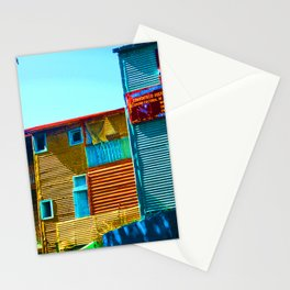 Sunny Morning at La Boca, Buenos Aires Stationery Cards