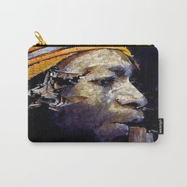 Papua Flute Player II Carry-All Pouch