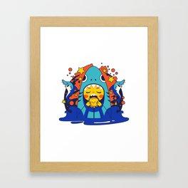 Overbite: Jawbreaker 3 Framed Art Print