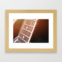 One Chord Away Framed Art Print
