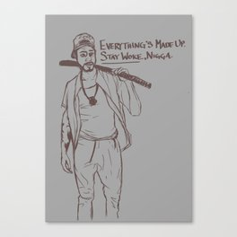 Stay Woke Canvas Print