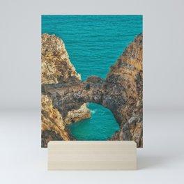 Ponta da Piedade, Algarve, Portugal IV Mini Art Print