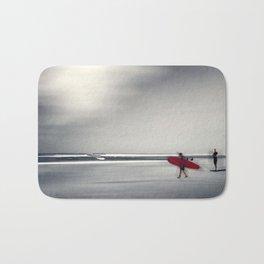 RED surfBoard 16 Bath Mat